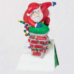 Getting Too Old For This Santa Musical Ornament
