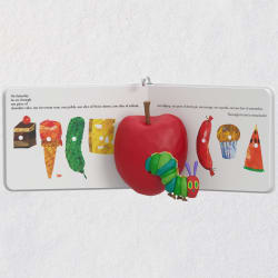 The Very Hungry Caterpillar Book Ornament