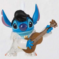 Disney Lilo & Stitch Rockstar Stitch Porcelain Ornament
