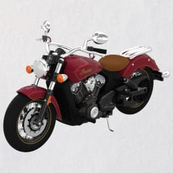 Indian Motorcycle® Scout 100th Anniversary 2021 Metal Ornament