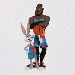 Space Jam: A New Legacy™ LeBron James and Bugs Bunny™ Ornament