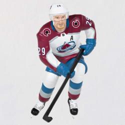 NHL® Colorado Avalanche® Nathan MacKinnon Ornament