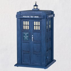 Doctor Who TARDIS Ornament With Light and Sound