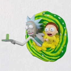 Rick and Morty Oh Geez, Rick! Ornament
