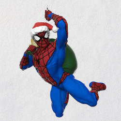 Marvel Spider-Man In the Holiday Swing Ornament