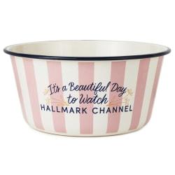 Beautiful Day to Watch Hallmark Channel Popcorn Bowl