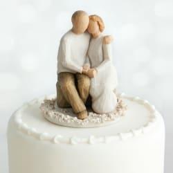 Willow Love/Milestones - Anniversary Cake Topper
