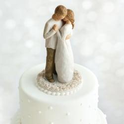 Willow Love/Milestones - Promise Cake Topper