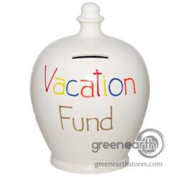 Celebrations Terramundi Money Pots - Vacation Fund