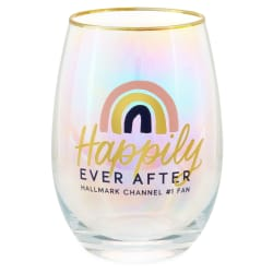 Hallmark Channel Happily Ever After Stemless Wine Glass, 16 oz.