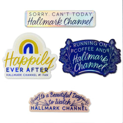 Hallmark Channel Assorted Puffy Stickers, Set of 4
