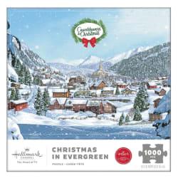 Hallmark Channel Christmas in Evergreen 1000-Piece Puzzle