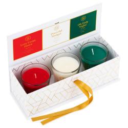 DaySpring Candace Cameron Bure Christmas Jar Candles, Set of 3