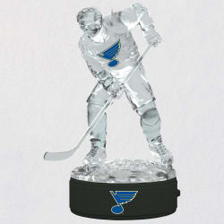 NHL® St. Louis Blues® Ice Hockey Player Ornament With Light