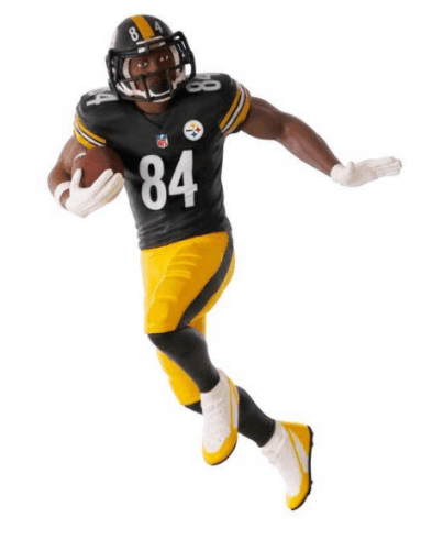 NFL Pittsburgh Steelers Antonio Brown Ornament
