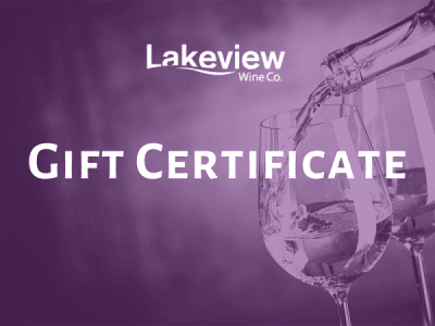 <span>Lakeview Wine Co.</span> Gift Certificate