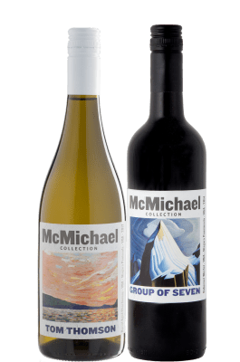 <span>Group of Seven Wines</span> McMichael Collection 12 Pack | SALE