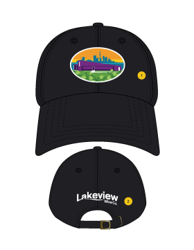 <span>Lakeview Wine Co.</span> Snapback Cap