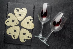 Event Tickets | Valentines Virtual Tasting | Wine + Cheese = LUV
