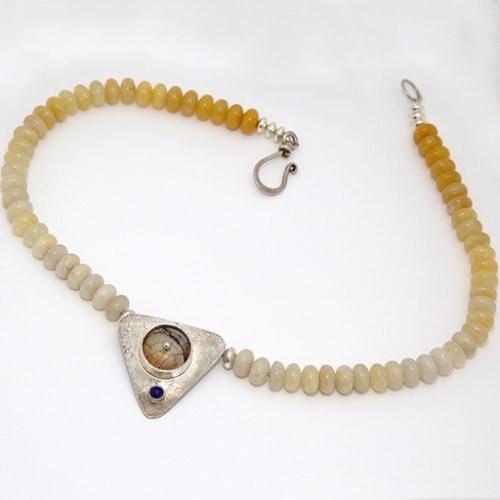 Cherry Creek Triangle Necklace