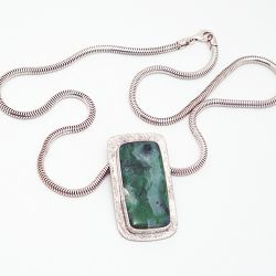 Malachite Bloom Pendant