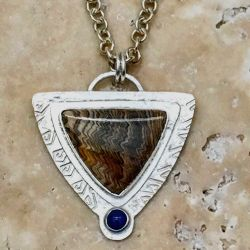 Hells Canyon Petrified Wood Pendant - SOLD