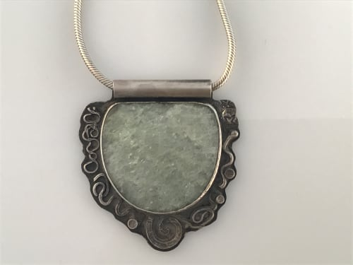 Green Muscovite Pendant