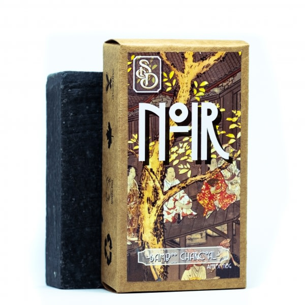 Noir | Bamboo Charcoal Soap Bar