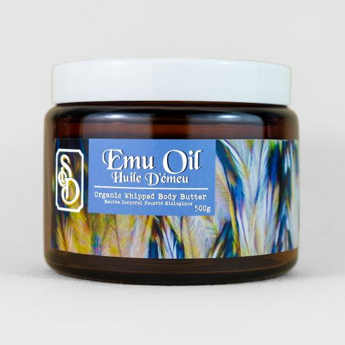 Emu Oil Whipped Body Butter