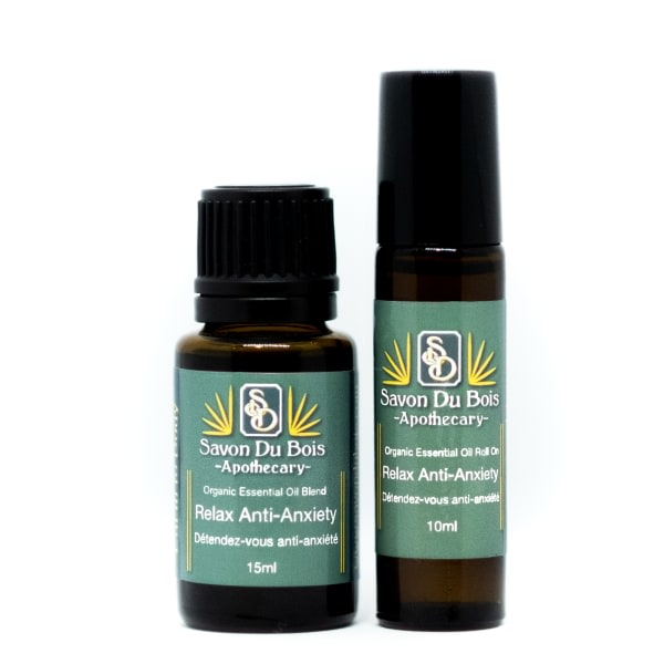 Relax Anti-Anxiety Aromatherapy Blend | Organic