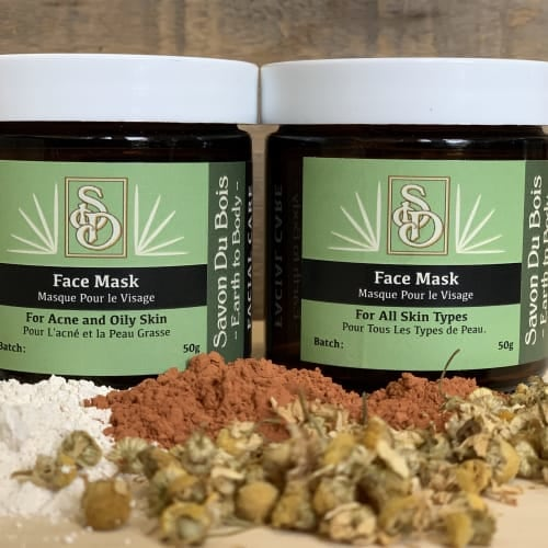 Deeply Cleansing Face Masks
