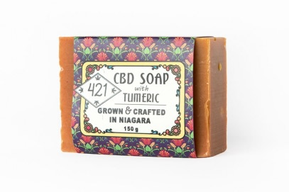 CBD Soap with Tumeric