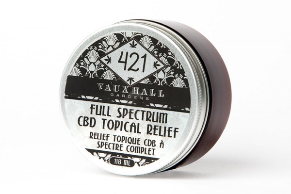 421 - CBD Topical