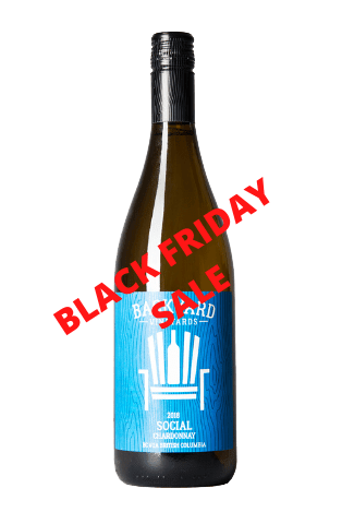 2019 Social Chardonnay   Case Lot 12 Bottles   BLACK FRIDAY SALE