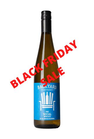 2018 Social Moscato   Case Lot 12 bottles   BLACK FRIDAY SALE