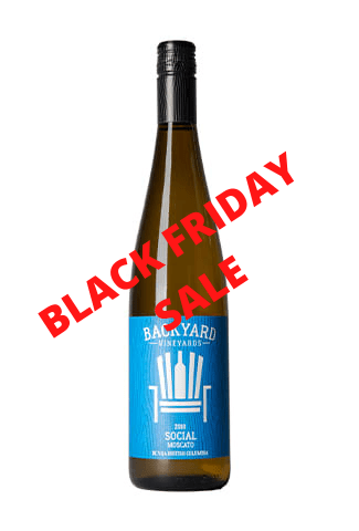 2018 Social Moscato | Case Lot 12 bottles | BLACK FRIDAY SALE