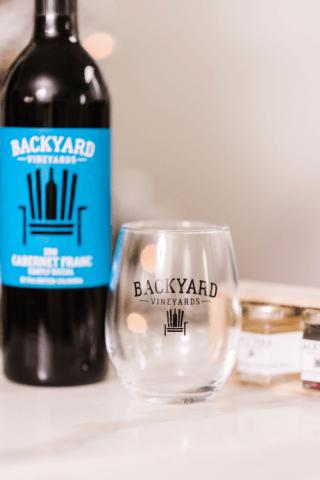 Backyard Stemless Glasses