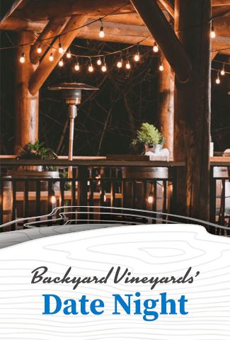 Date Night at Backyard Vineyards   July 24