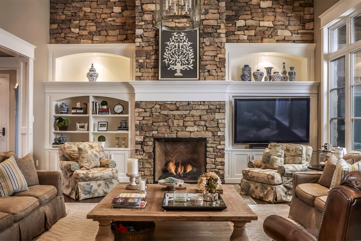 Morrison A | Fireplace Wall