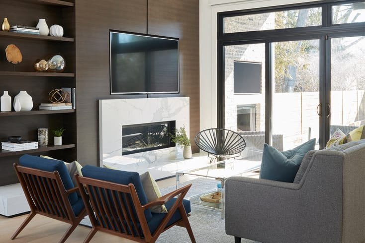 Maple | Family Room Wall Unit