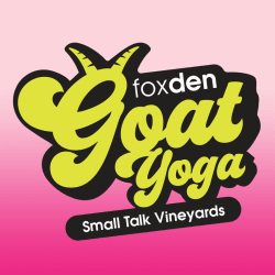 Goat Yoga @ Small Talk Vineyards
