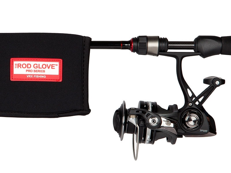 PRO SERIES SPINNING ROD GLOVE • Standard 5.5' •  Rods to 7.25'