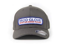 Rod Glove Branded Curved Brim, Full Back Hat