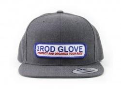Rod Glove Branded Flat Brim, Snap Back Hat