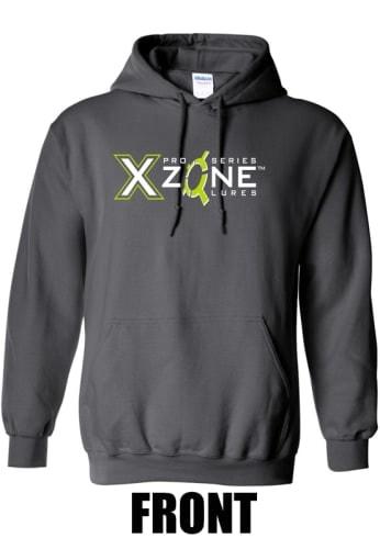 X Zone Hoodie - Charcoal
