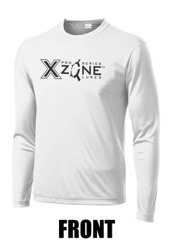 X Zone High Performance Long Sleeve T-Shirt White