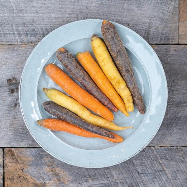 Mixed Heirloom Carrots