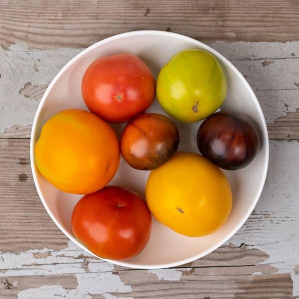 Heirloom Rainbow Tomatoes