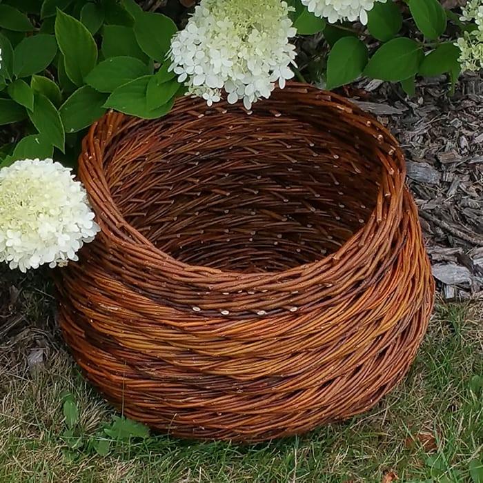 Rope Coil Round Basket Workshop