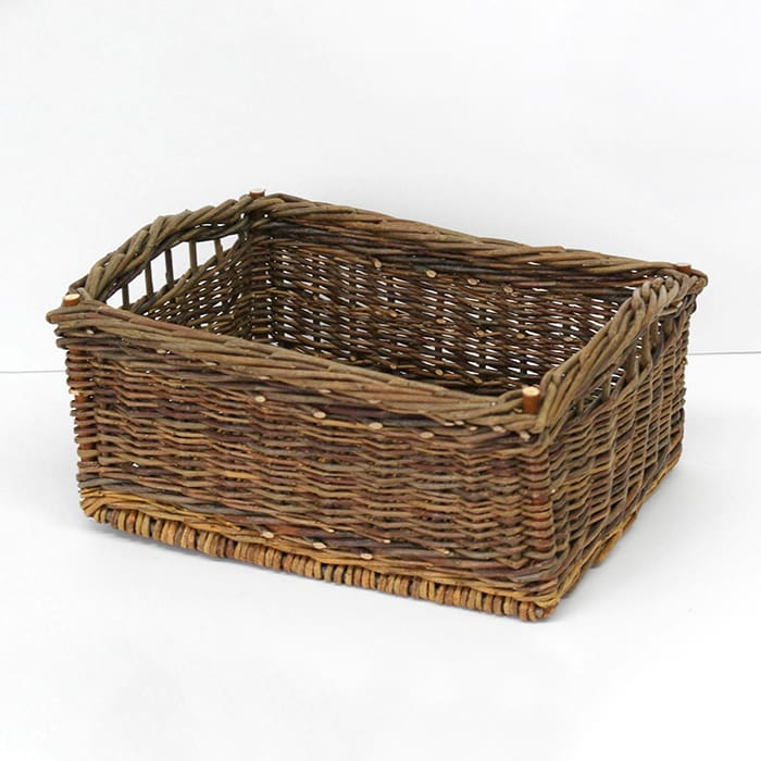 Small Square Handled Basket